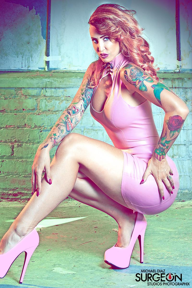 Dangerous in Pink Julie Bolene